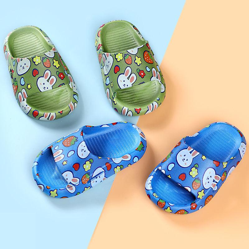 54154-儿童拖鞋夏男女室内宝宝浴室拖鞋软底防滑加厚小孩凉拖鞋洗澡防滑-详情图