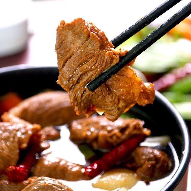 新鲜黄牛拆骨肉全熟大块牛剔骨肉五斤清真牛杂牛肉类削骨肉一斤