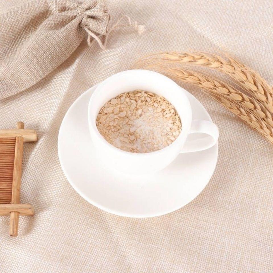 75627-热饮纯正牛奶加钙麦片500g营养早餐冲饮即食代餐免煮独立小袋-详情图