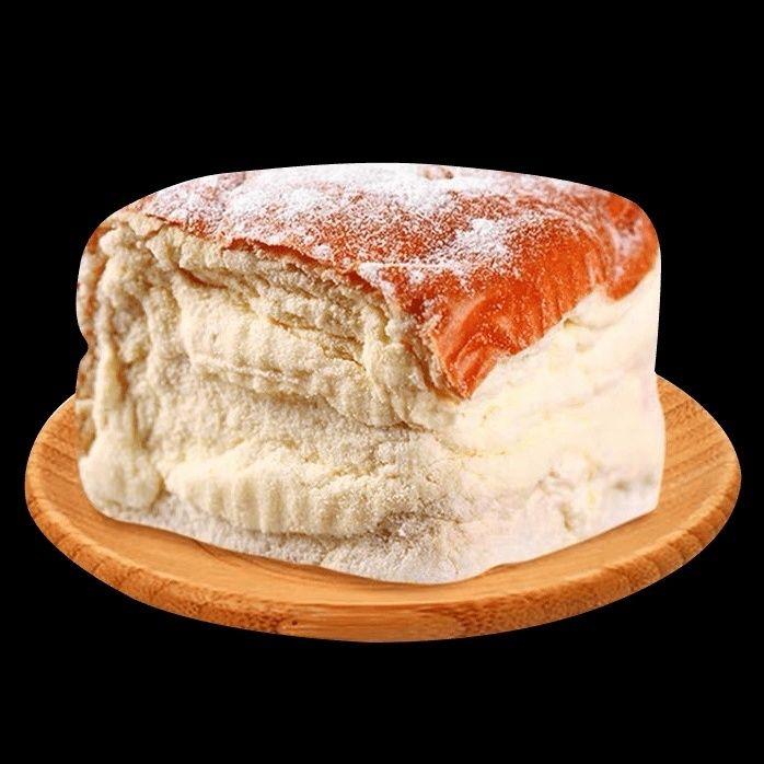54166-网红奶酪包面包夹心奶油面包学生零食早餐糕点厂家手工制作150g-详情图