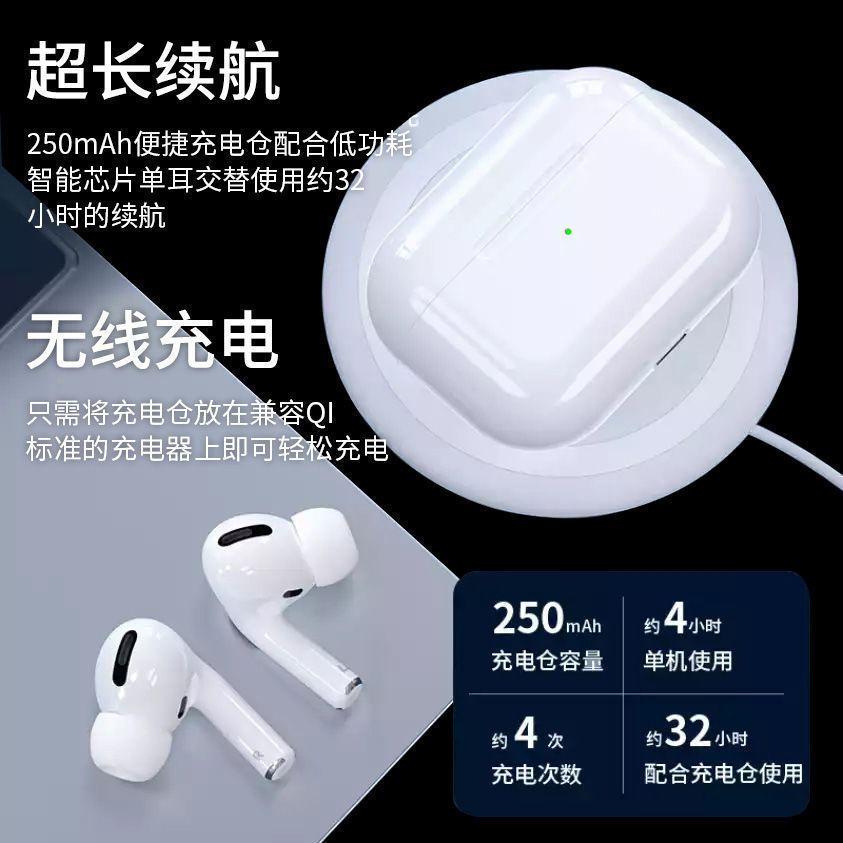 华强北洛达1562A三代无线蓝牙耳机真降噪通透空间ios安卓系统通用主图6
