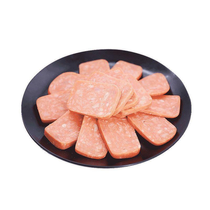 54320-龙大肉食三文治火腿肠切片午餐肉早餐三明治即食速食方火腿280g-详情图