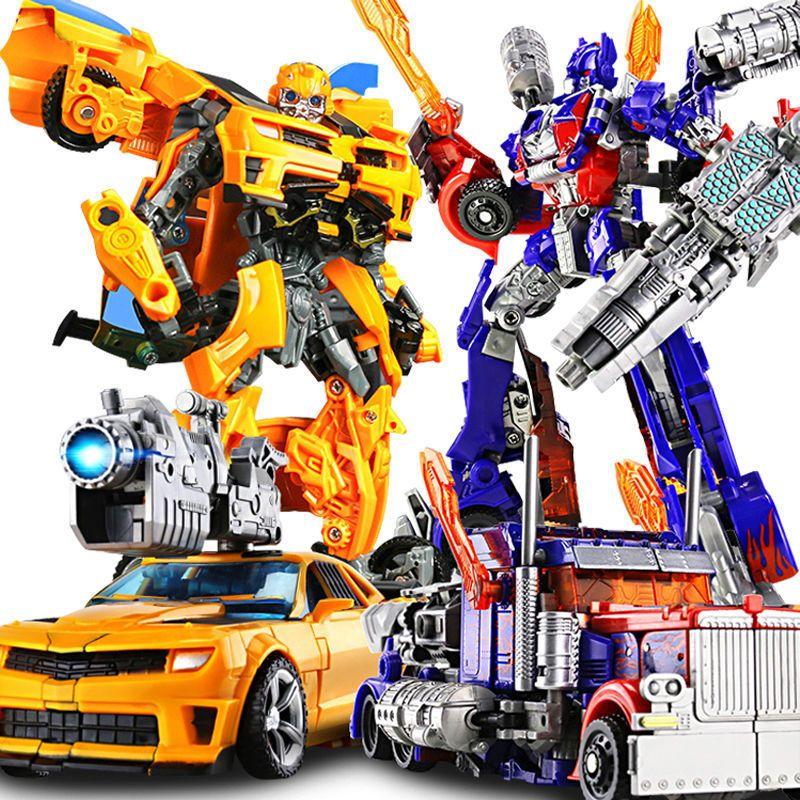 男孩变形玩具擎天柱机器人合金变形金刚汽车人大黄蜂手办恐龙儿童