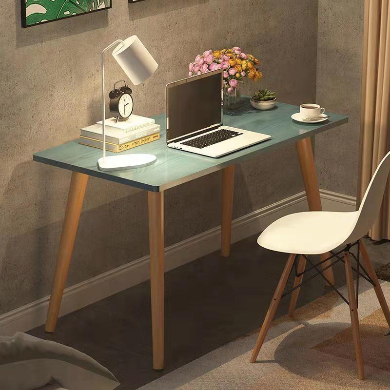 书桌ins简约网红电脑桌租房家用卧室学生桌椅套装写字桌学习书桌