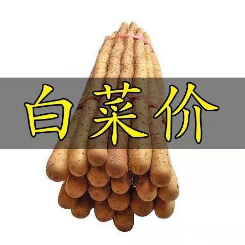 粉糯正宗铁棍山药新鲜蔬菜淮山药铁杆山药河北特产蔬菜多规格可选