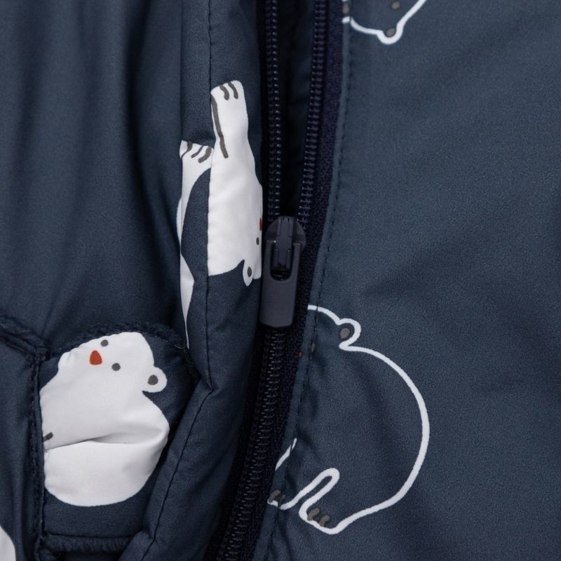 88710-巴拉巴拉宝宝冬季棉袄儿童棉服婴儿棉衣加厚冬装满印加绒-详情图