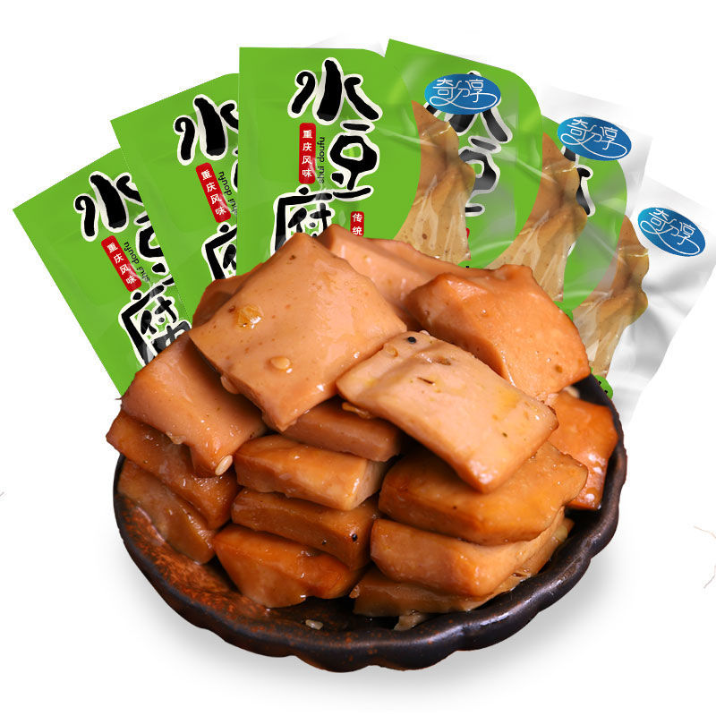 57710-重庆特产网红小吃奇爽小包装零食豆干豆腐干不加鸡精味精色素-详情图