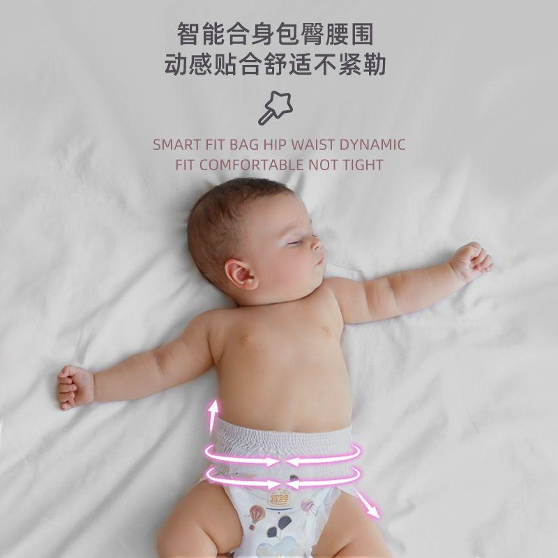 75886-宜婴精灵裤拉拉裤男女宝宝超薄透气干爽纸尿裤新生婴儿小内裤夏季-详情图