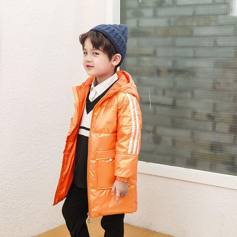 57760-新款儿童羽绒服中长款男女童白鸭绒外套加厚保暖亮面免洗连帽童装-详情图