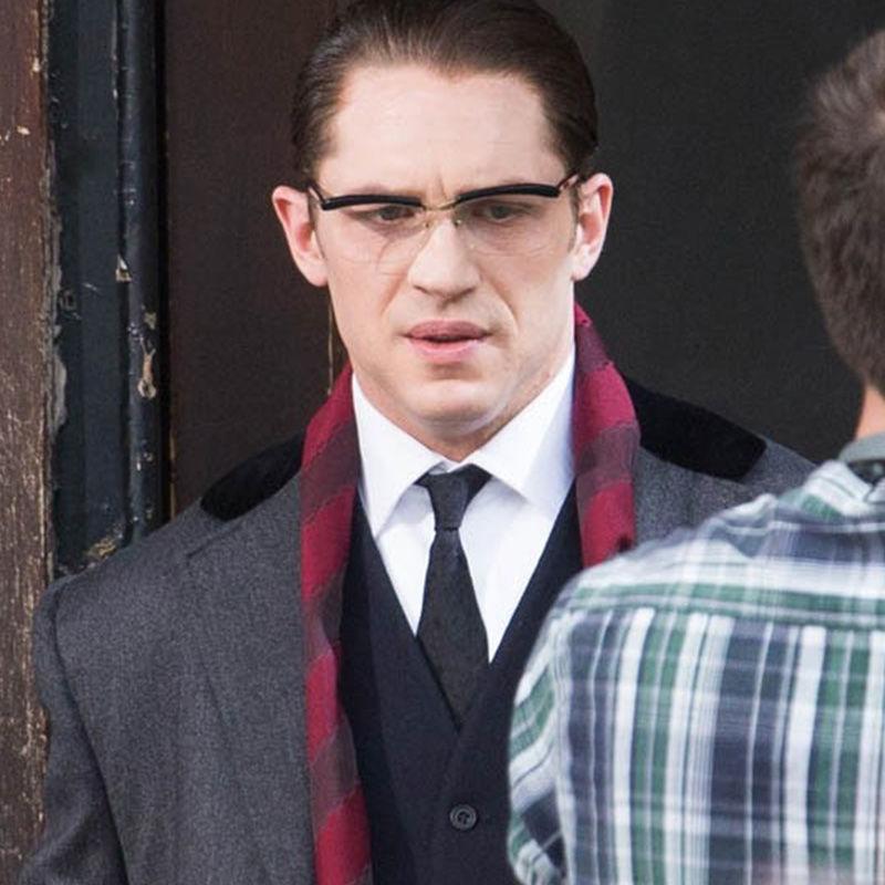 88717-汤姆哈迪同款眼镜架暴徒眉框半框眼镜男士可配度数近视防蓝光开车-详情图
