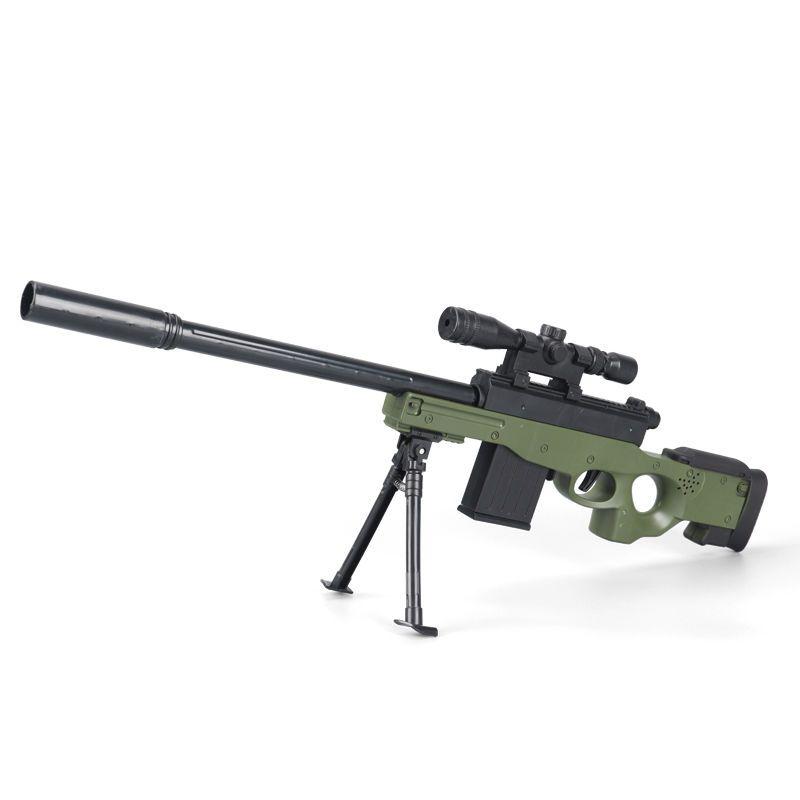 57664-awm98k儿童玩具枪抛壳软弹枪绝地求生和平精英吃鸡枪支男孩狙击枪-详情图