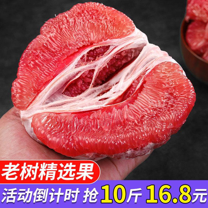 正宗福建平和琯溪红心蜜柚红肉柚子新鲜孕妇水果薄皮广西应季超甜