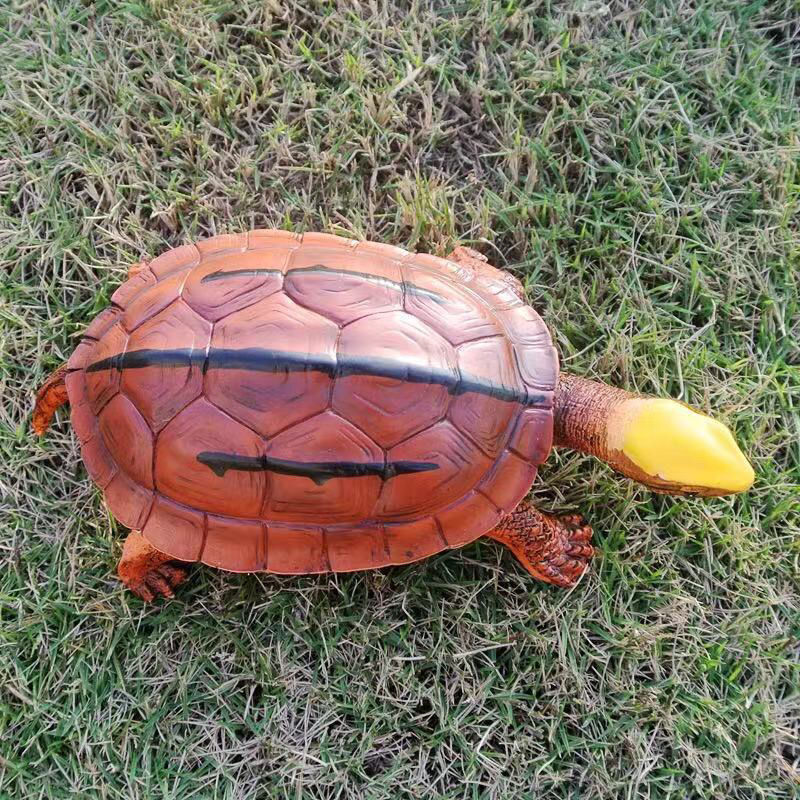 【金钱龟】超仿真树脂版,海南大黄头越南工作台气车摆件一龟一价