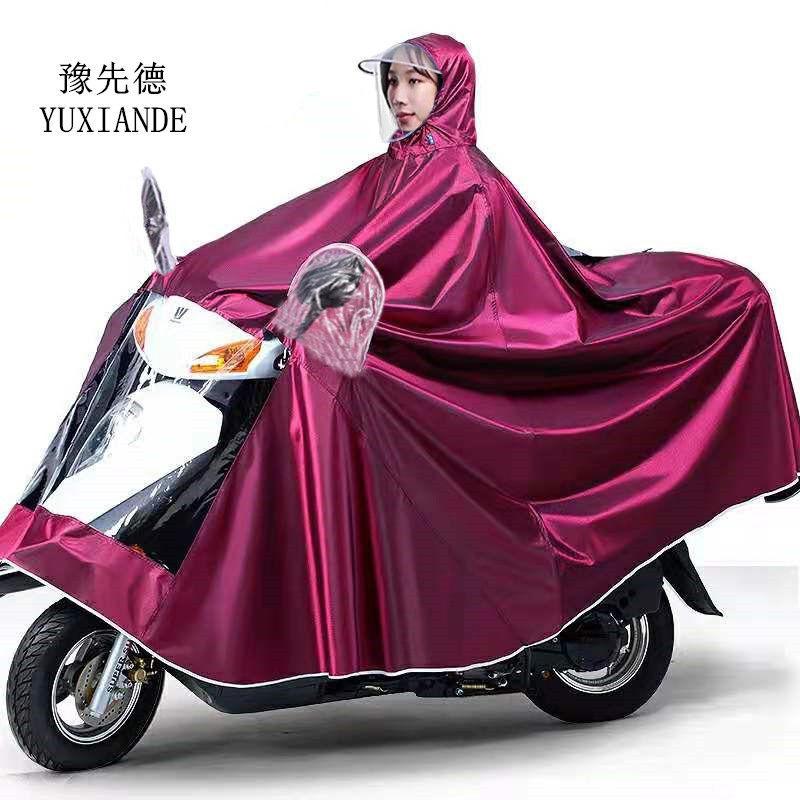 雨衣摩托车电动车雨衣成人单人防暴雨户外骑行加大学生男女士雨披