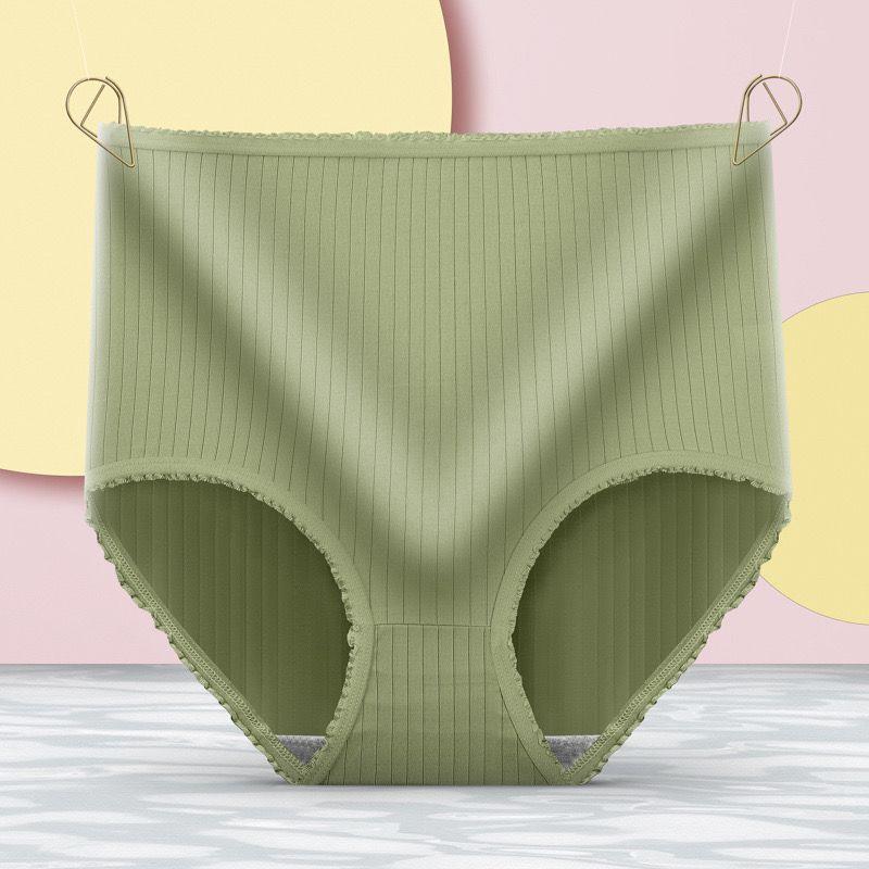 【5条装】75-200斤女士内裤女高腰收腹提臀束腰大码纯色内裤头