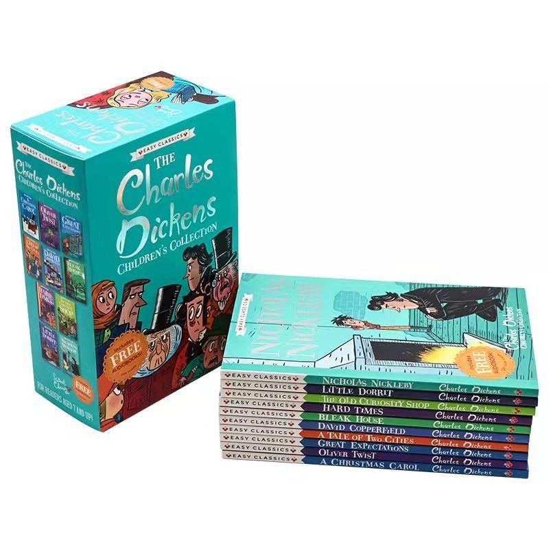 75795-查尔斯狄更斯 The CharIes Dickens 10册英文原版课外儿童读物-详情图