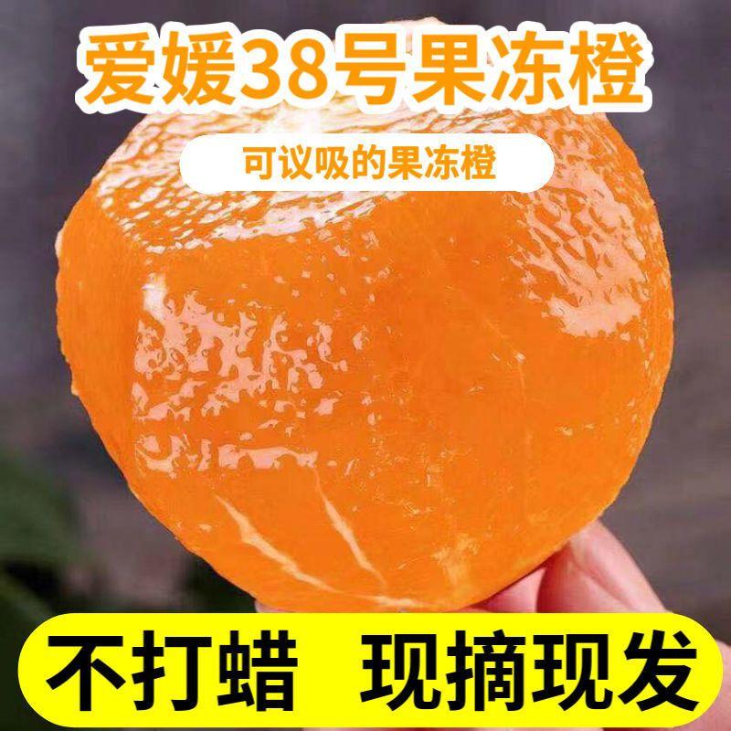 爱媛38果冻橙子水果新鲜应季水果超甜整箱批发橘子薄皮非冰糖脐橙