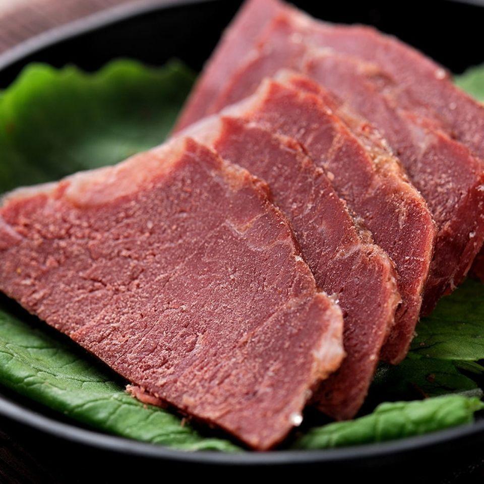 75662-正宗内蒙古风味酱牛肉牛腱子卤味低脂零食开袋即食熟五香牛肉熟食-详情图