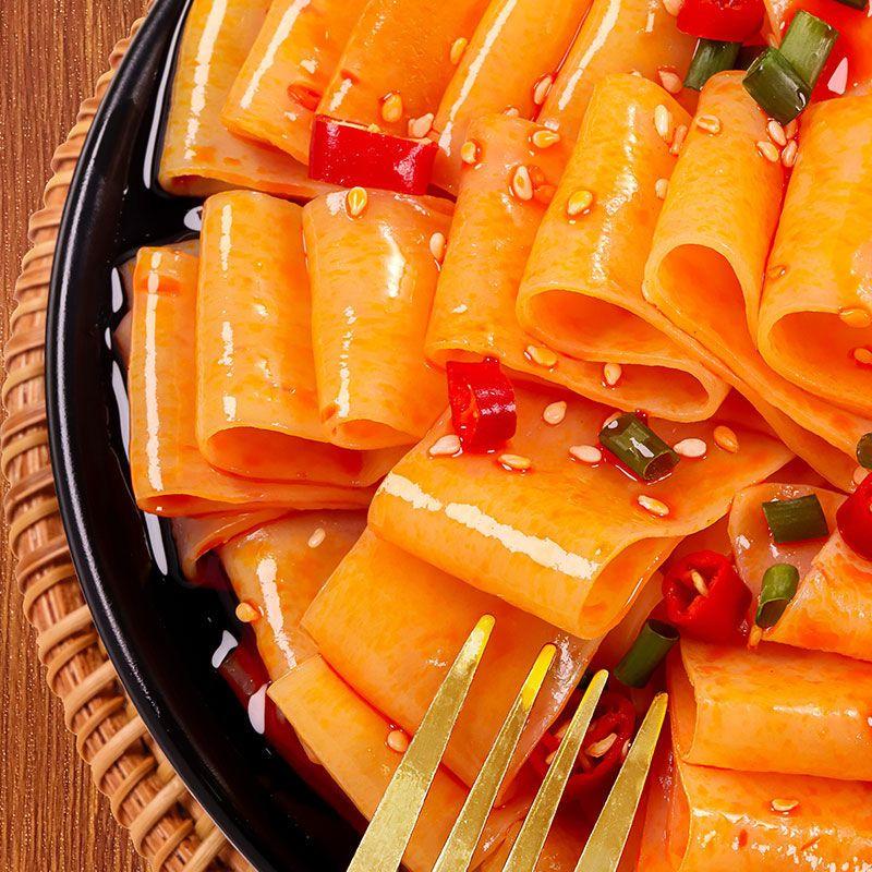 75803-红油面皮麻酱面皮批发凉皮方便面网红零食面食类夜宵速食袋装-详情图