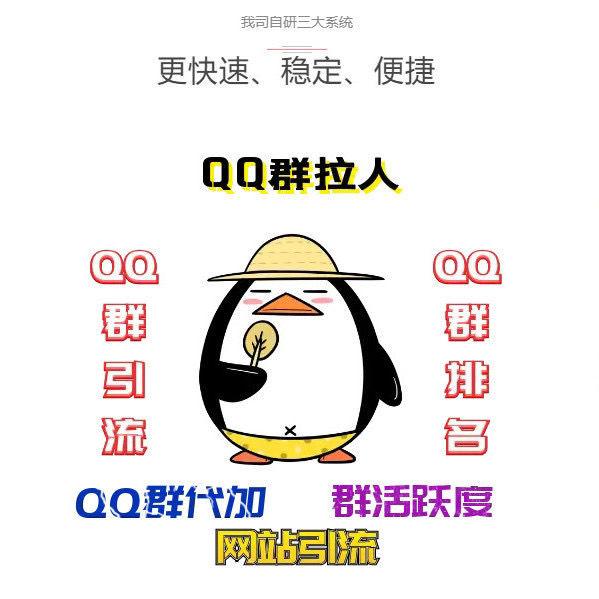QQ群排名前三优化技术代刷僵尸活跃维护做群打群收徒主图1