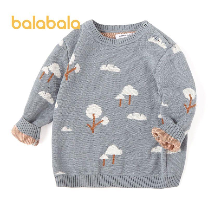 88916-巴拉巴拉冬款男童毛衣婴儿宝宝套头打底衫儿童针织衫20034201501-详情图