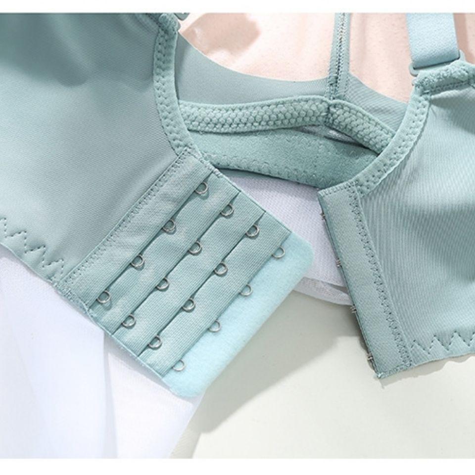 2021新款女士文胸无钢圈小胸内衣收副乳调整型胸罩中厚