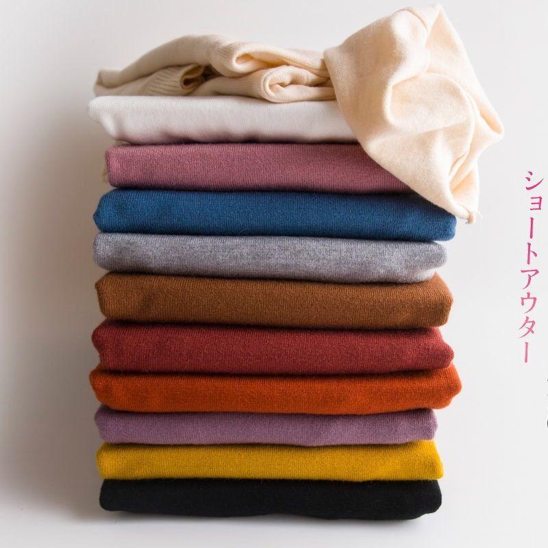 88909-新款羊高领打底衫女秋冬大码绒堆堆领套头毛衣内搭长袖绒衫针织衫-详情图