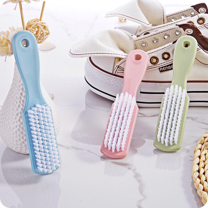 【4个装】洗鞋刷双头硬毛清洁刷鞋刷子软毛多功能洗衣刷家用鞋刷