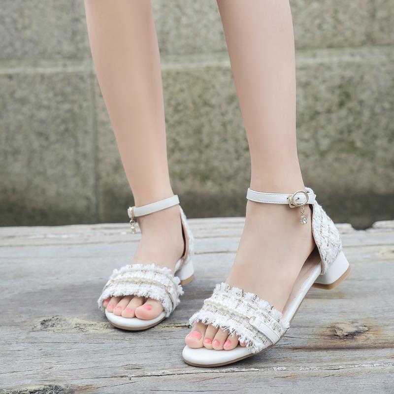 51773-儿童凉鞋女2021夏季新款软底防滑小学生女童公主鞋小孩时尚高跟鞋-详情图