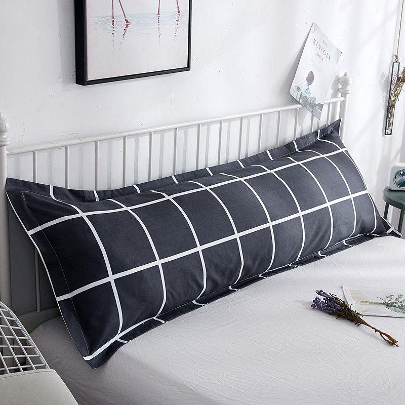 冲量 双人枕套枕头套1.2/1.5m1.8米长枕套情侣婚庆枕芯套1米2