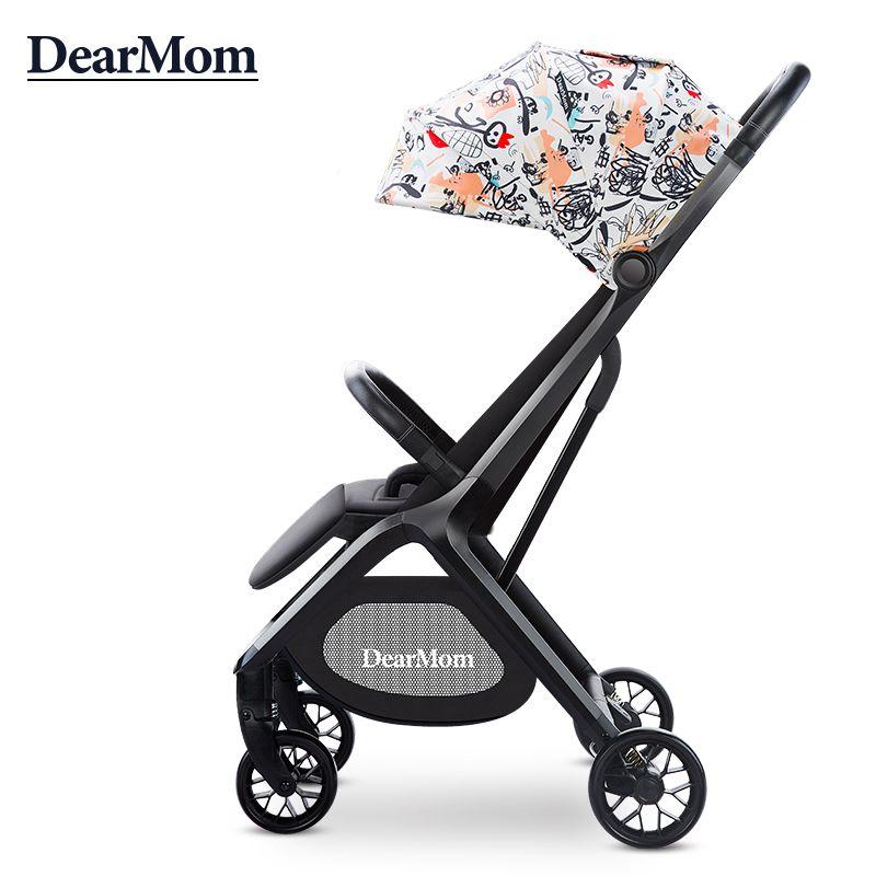 DearMom婴儿车可坐可躺轻便折叠儿童宝宝手推车超轻小便携式伞车