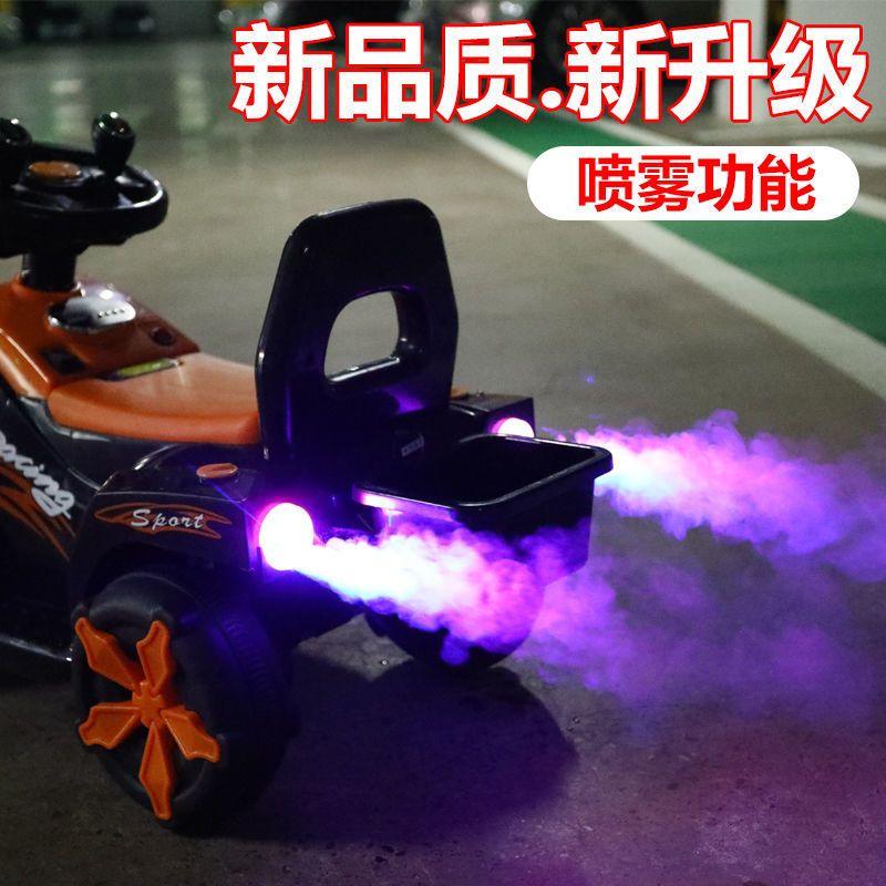 儿童电动挖掘机大号可坐可骑挖土机玩具工程车男孩女孩充电滑行车主图3