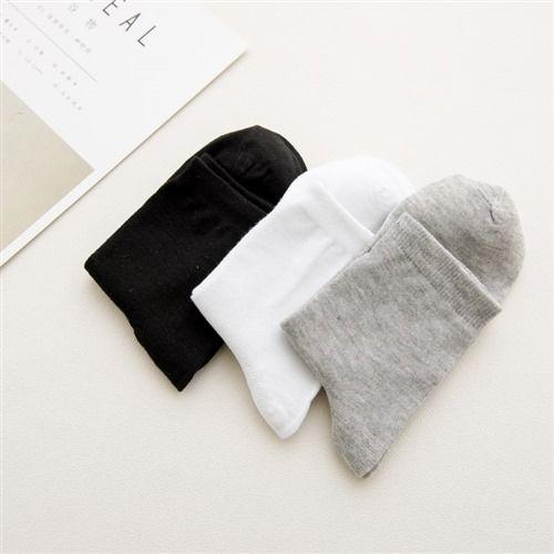 万亿足袜子男士中筒袜男长袜四季短袜吸汗运动袜量大从优W
