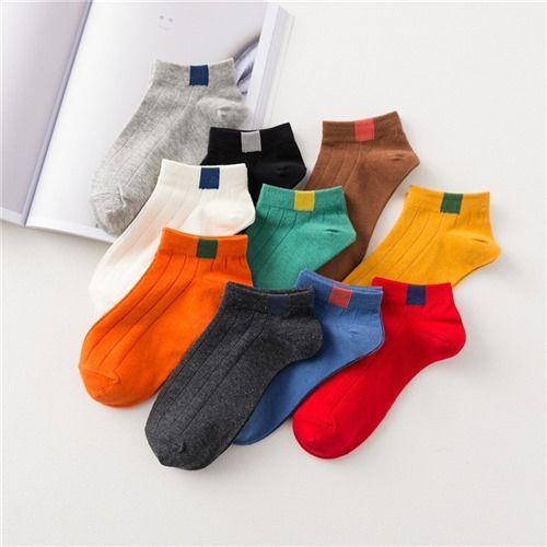 韩版个性百搭条纹船袜女士浅口低帮夏款学院风运动女短袜W.6