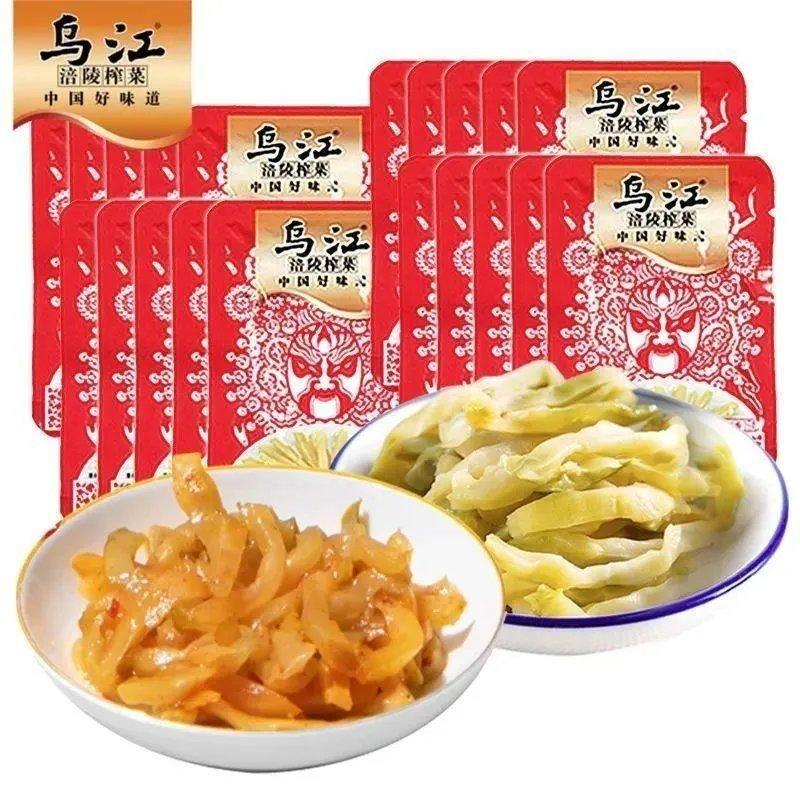 榨菜丝清淡下饭菜开味菜袋装泡菜15g小包装批发速食咸菜