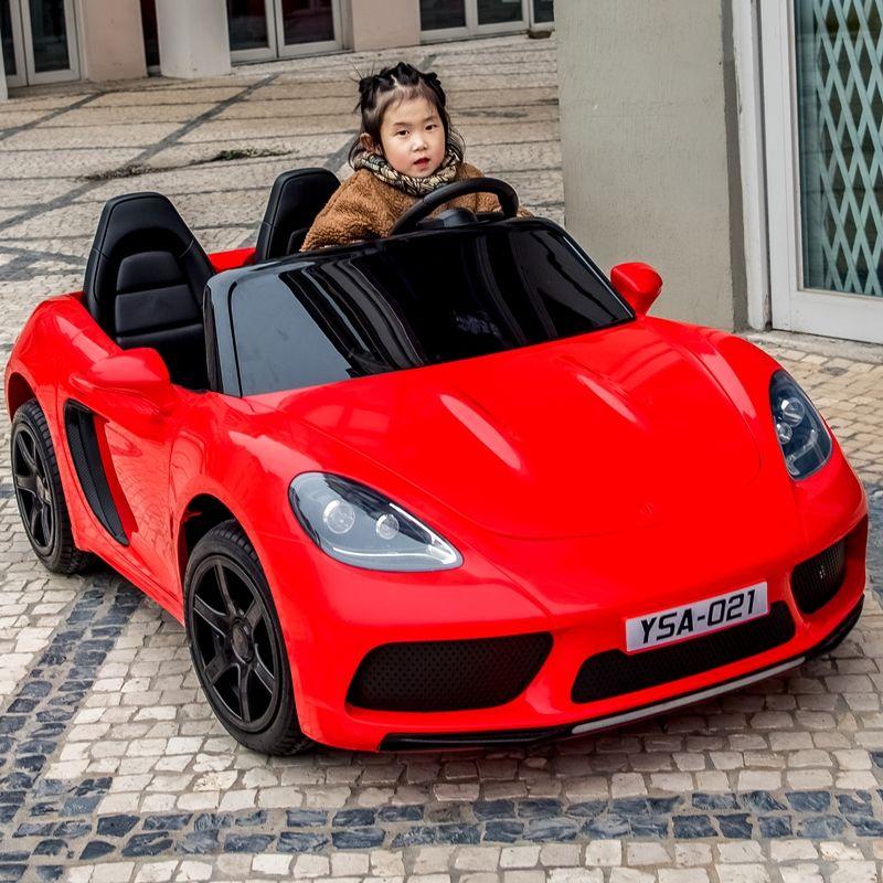 双人座儿童电动车四4轮遥控汽车宝宝车电动可坐大人玩具车超大号