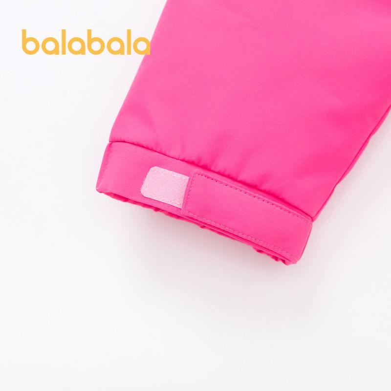 88889-巴拉巴拉女童外套棉服秋款中厚2021新款秋装棉袄秋冬女大童棉衣-详情图