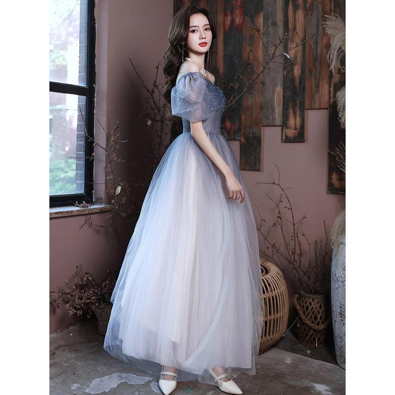 75672-宴会晚礼服裙女2021新款高贵优雅气质年会主持成人礼平时可穿长款-详情图