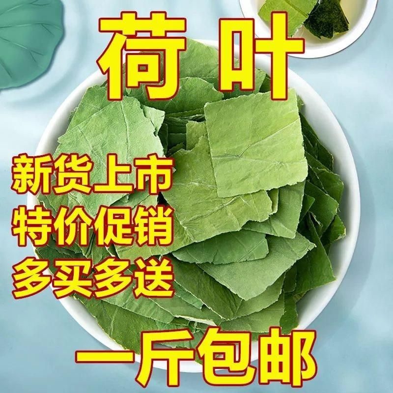 微山湖荷叶茶500g包邮正品天然干荷叶片新鲜荷叶泡茶水50克中药材