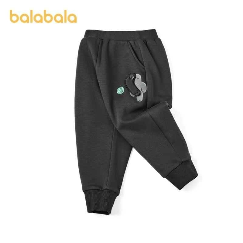 88907-巴拉巴拉宝宝长裤儿童裤子2021新款男童冬装休闲裤潮-详情图