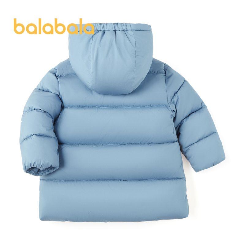88903-巴拉巴拉童装冬款男宝卡通连帽保暖棉服外套20064201204-详情图