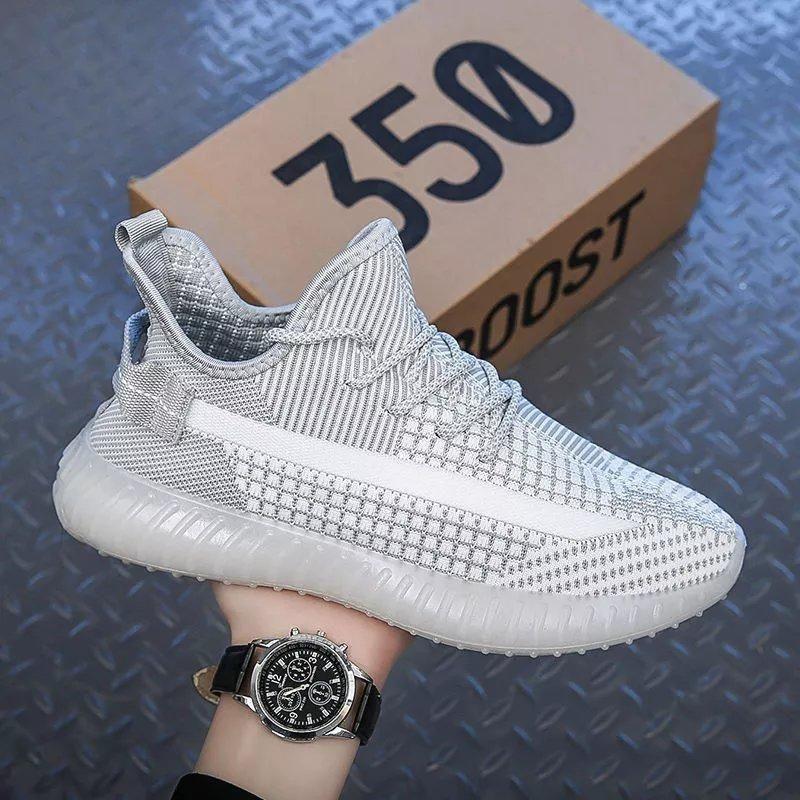 椰子350跑步运动鞋子男女潮流百搭学生休闲小白板鞋2021新款网鞋