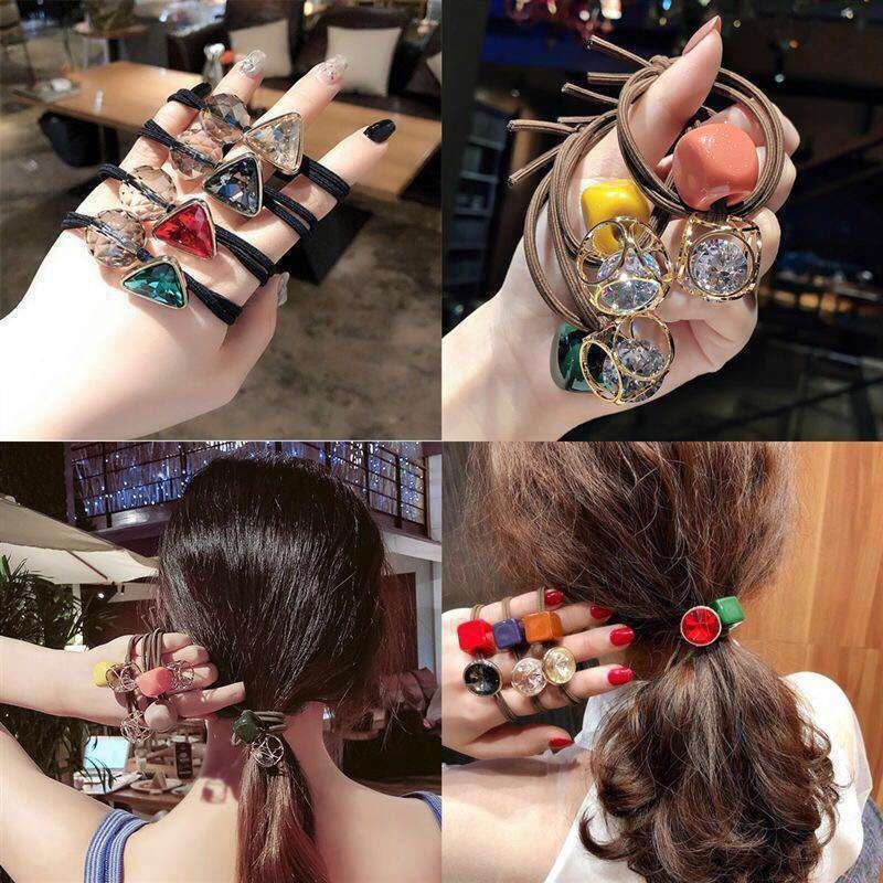 88883-韩版女头绳发绳扎头发橡皮筋扎发带成人时尚头饰-详情图