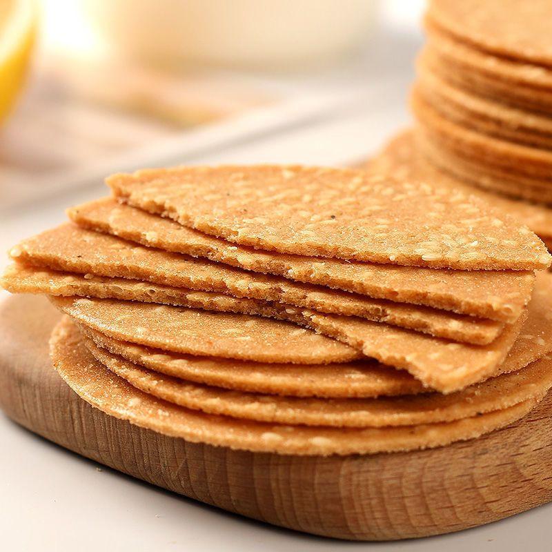 88922-铁棍山药芝麻薄脆饼干手工烤片零食大全好吃的网红零食批发整箱-详情图