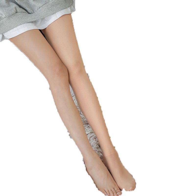 冬季光腿神器女超自然肉色连裤丝袜子秋冬裸感加绒加厚空姐打底裤